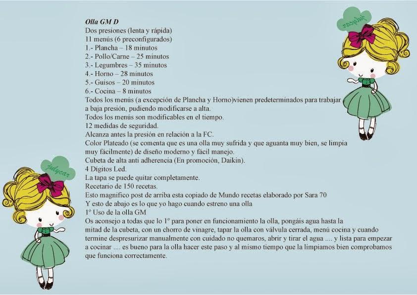 Características GM D