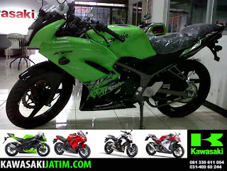 KRR 150RR Lime Green New Stripping