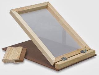 khung gỗ in lụa