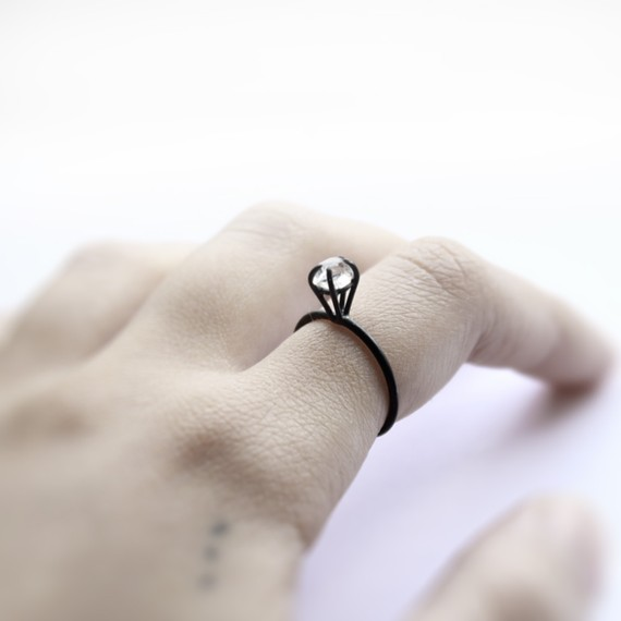 industrial style ring