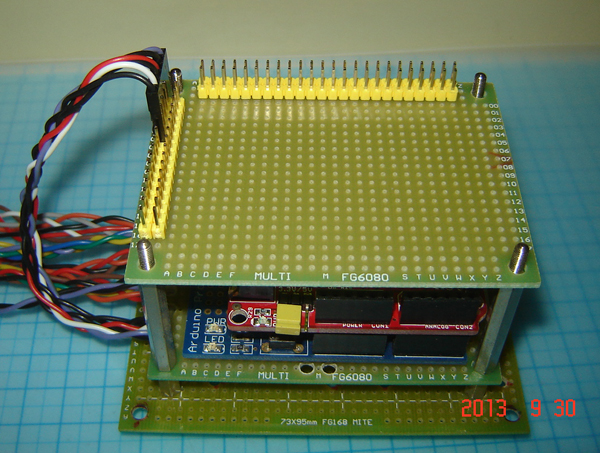 Fongheart arduino breakout board testing notes