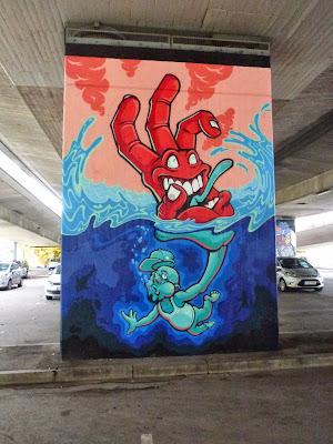 Graffiti - Donnersbergerbrücke