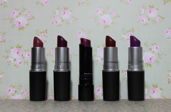 mac autumn berry lipsticks