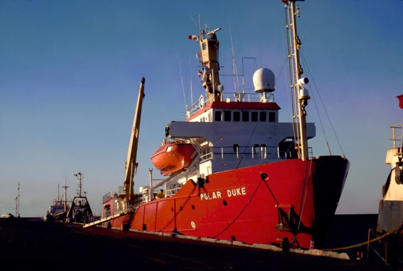 Polar Duke research vessel