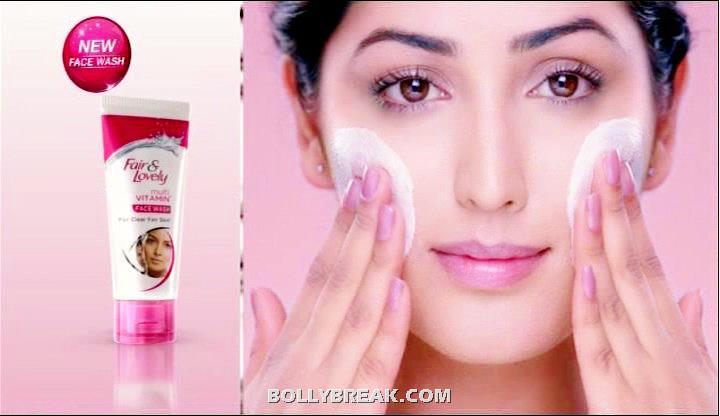 Yami Gautam Fair & Lovely - Yami Gautam Fair & Lovely Commercial Pics