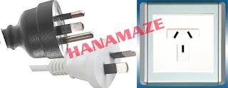 hanamaze, socket, plug, listrik