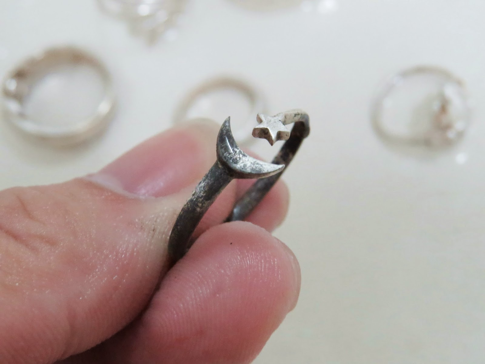 100 [ Silver Ring Cleaning ]