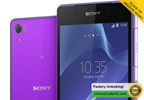 Factory Unlock Code for Sony Xperia Z2