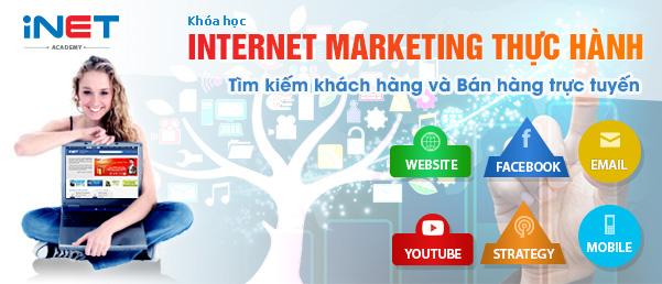 Kinh doanh online - Internet marketing thực hành trong 9 buổi tại iNET