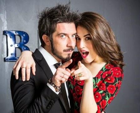Paolo Ruffini e Diana Del Bufalo Colorado