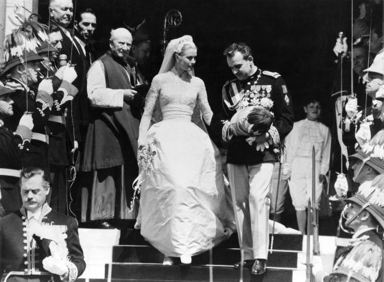 Boda Rainiero de Mónaco y Grace Kelly