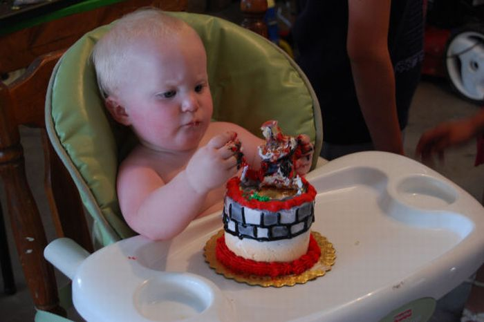 Kid Eating Birthday Cake Funny Ppap funny related keywords ...