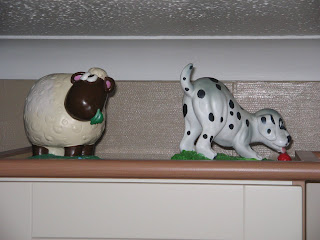sheep and dog gnome