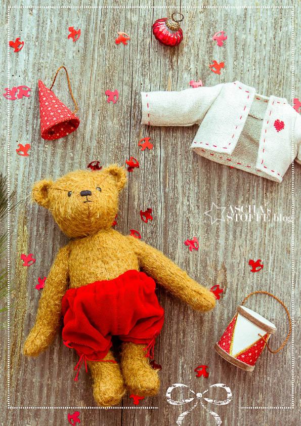 stoffe und zubehör für teddybär kaufen