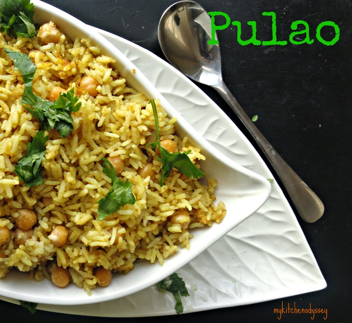 chana pulao is ready