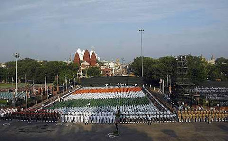 Independence Day celebration on August 15, India\