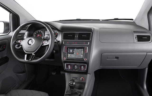 Novo VW Fox 2016 Highline 2016 - interior