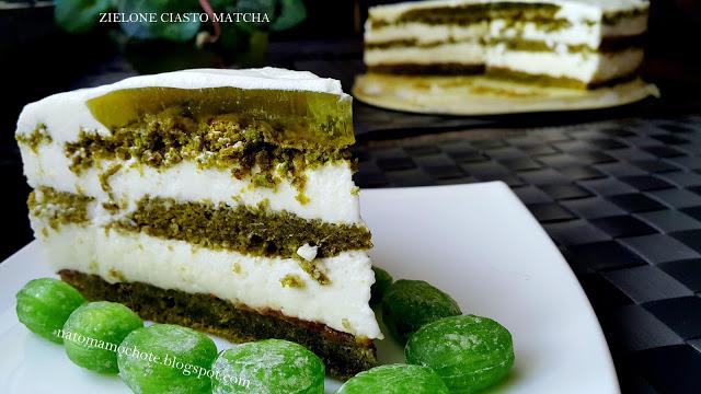 Zielone Ciasto Matcha