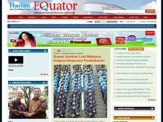 GAMBAR ON LINE HARIAN EQUATOR