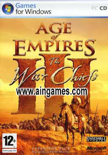 Free Download Games Age Of Empires III - The Warchiefs and Asian The Dynasty - Full Rip Version PC