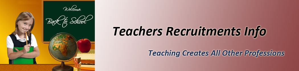 Teachers Recruitments Info