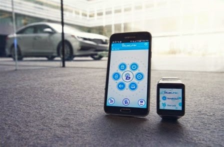 Hyundai umumkan Aplikasi Blue Link untuk Android Wear