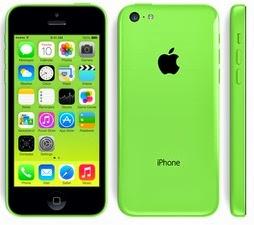Apple iPhone 5c Hijau