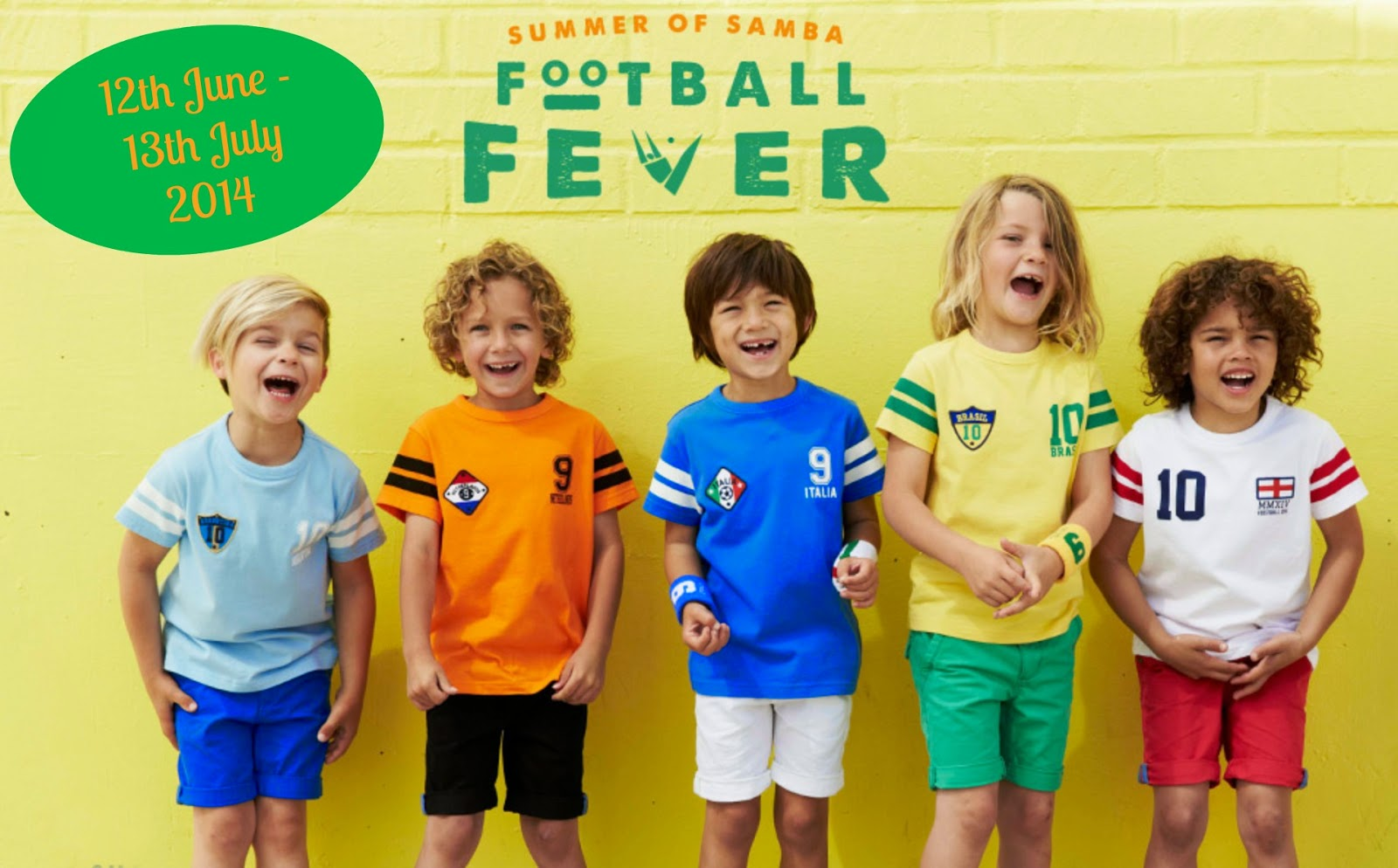 World Cup t-shirts for little football fans | Fashion | world cup | football tees | t-shirts | football t-shirts | boys fashion | world cup rail | england | tees | boys fashion fr football fans | football slogan tees | high street fashion | next | matalan | george | H&M | boys clothes | MamasVIB
