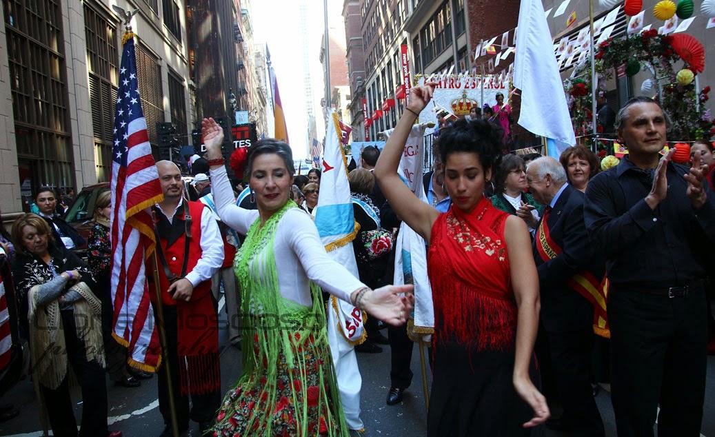 Desfile de la hispanidad de Nueva York 2014 - Galicia