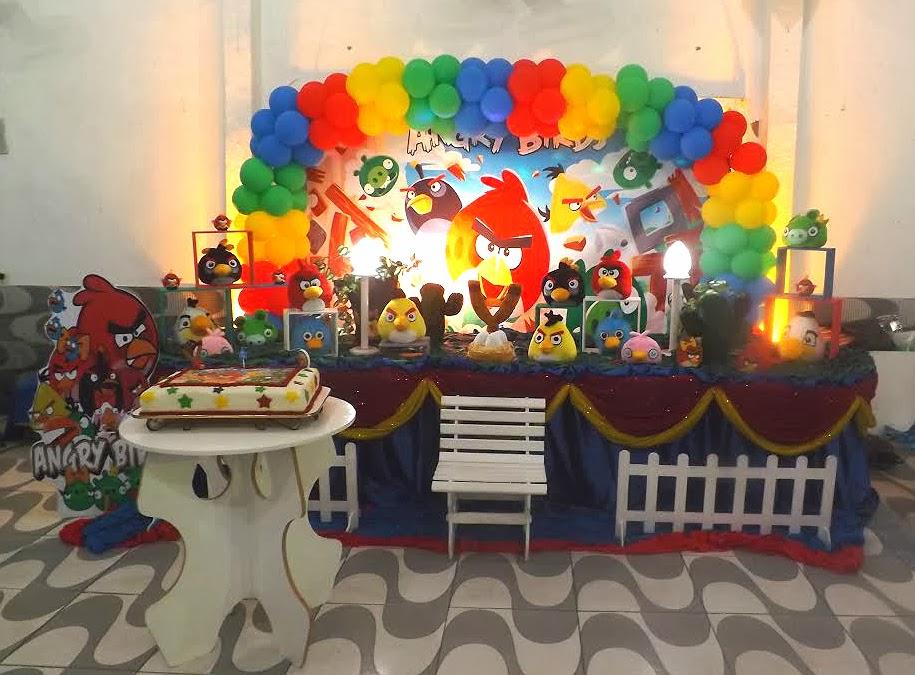 Decoração de festa infantil - Angry Birds