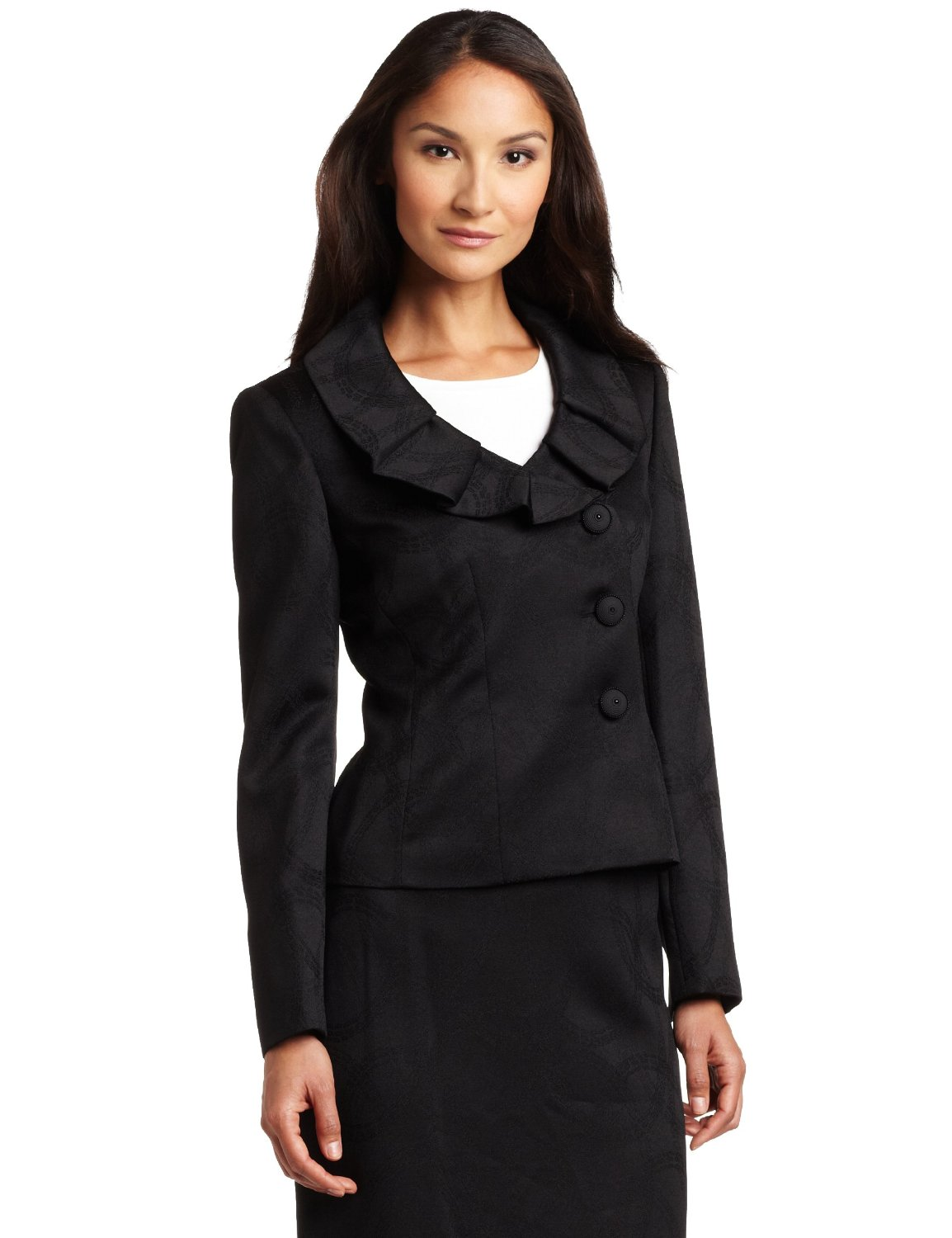 We also have Ladies Business Suits and Wardrober Ensembles, which can help make the most out of your existing collection by giving you the flexibility to mix and match the Skirt Suit Seperates! And we are more than just Skirts! We have Business Pantsuits, Formal Pantsuits, Church Pantsuits, Classy Pantsuits, you name it, we have a Pantsuit Style that will meet your needs!