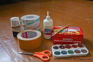 Как сделать краску цвета крови 344