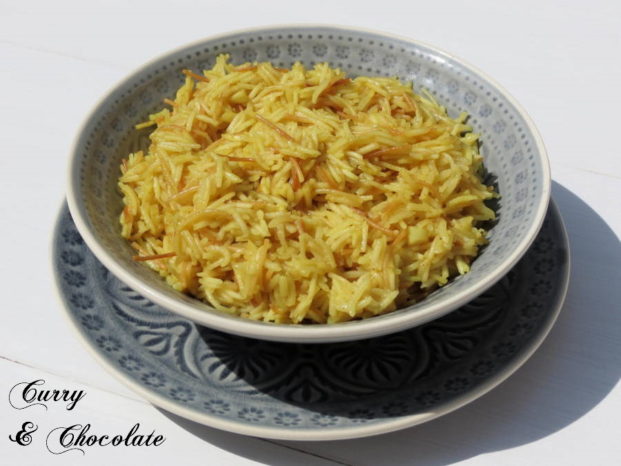 Arroz árabe para guarnición – Arabic rice