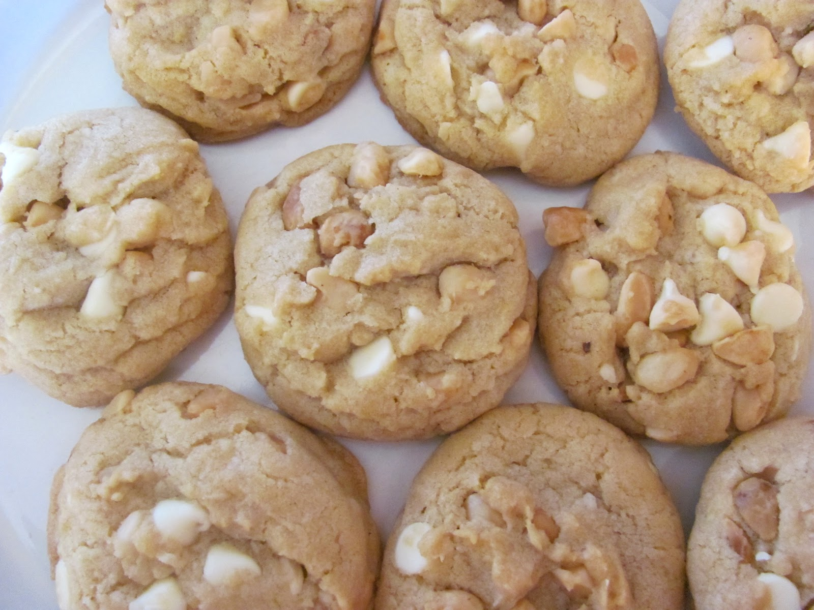 Creating Nirvana: Easy White Chocolate Macadamia Nut Cookies