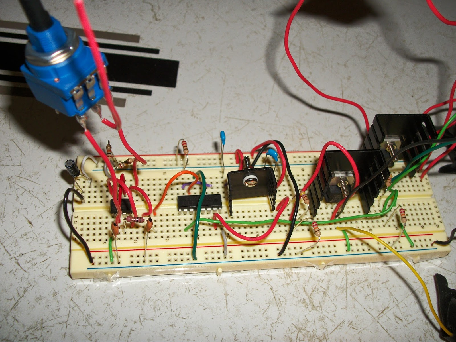The Krell Lab Homemade Modified Sine Wave Power Inverter350 500w Inverter Circuit Diagram On A Breadboard02