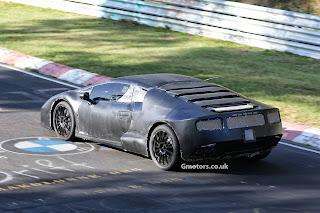 Lamborghini Cabrera 2014 Nurburgring