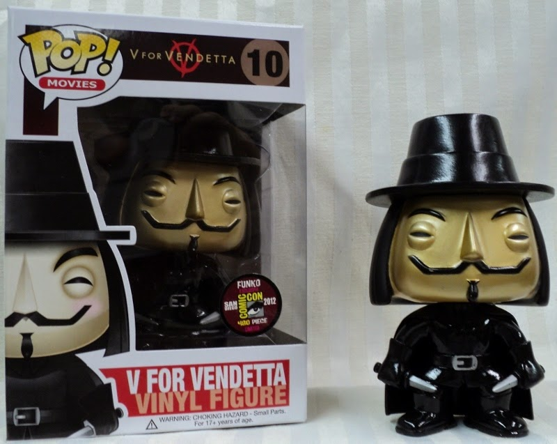 Funko Pop! V de Vendetta Metallic SDCC 2012