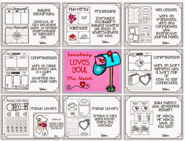 https://www.teacherspayteachers.com/Product/Somebody-Loves-You-Mr-Hatch-Book-Companion-1655264