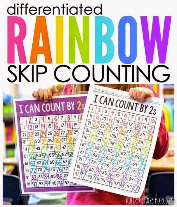 differentiated Rainbow Skip Counting