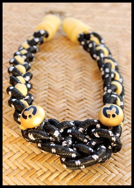 tutorial necklace diy