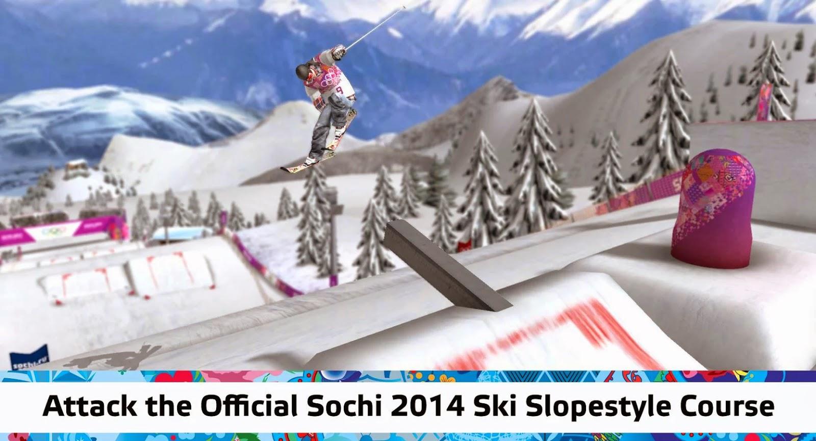 Sochi 2014 Ski Slopestyle v1 Full  Android Apk İndir