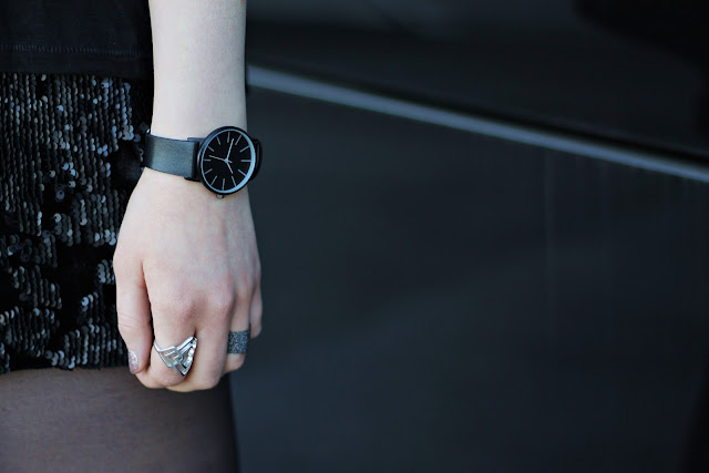 Asos black watch
