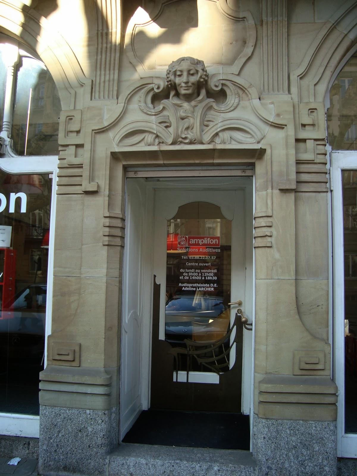 Paseos art nouveau porte 51 46 avenue des vosges for Porte de garage strasbourg