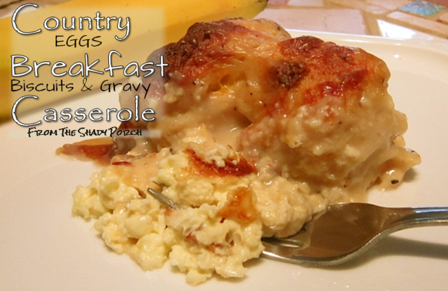 Country Breakfast Casserole #Sunday #Pre-make #brunch