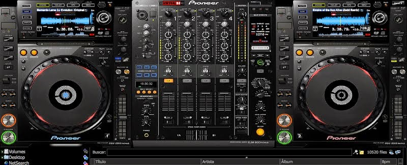Download pioneer cdj 2000, skin for virtualdj