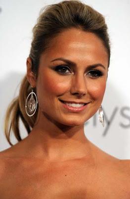 Stacy Keibler Sterling Hoop Earrings