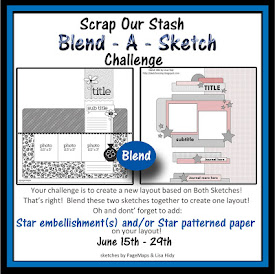 June Blend A Sketch Challenge