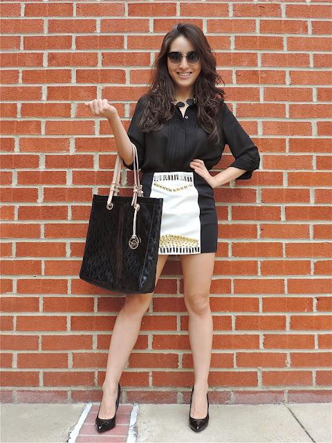 The Embellished Skirt