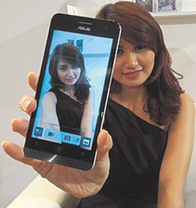 Selfie di Kamera ASUS ZenFone 5