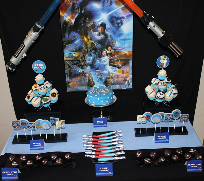 Fiestas infantiles decoradas con star wars for Decoracion star wars